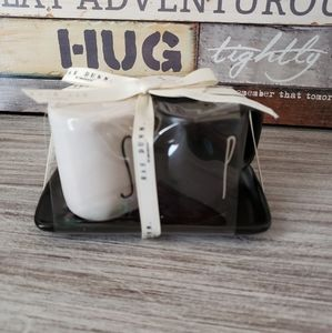 Rae Dunn S and P Salt Pepper Mini Mug Shakers NEW